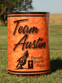 Barrel racing barrel covers