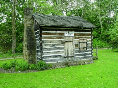 COL. CRAWFORD'S CABIN