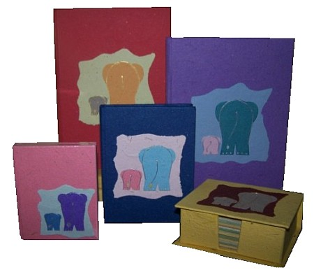 Elephant Dung Paper Stationery