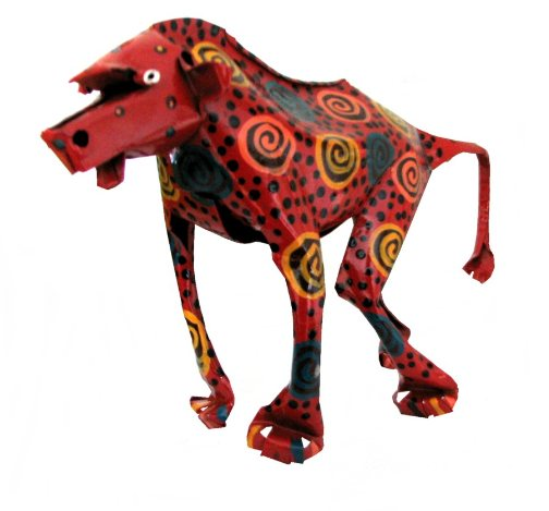ethical presents, recycled metal animals