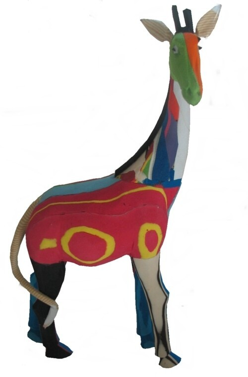eco friendly products, recycled rubber animals