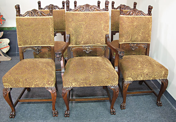 Antique Lion Head Chair - Antique Lion Head Chair Antique Furniture