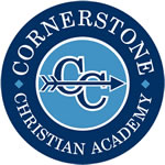 Cornerstone Christian Academy Cross Country Logo