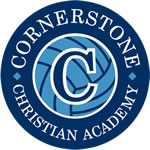 Cornerstone Christian Academy Volleyball Logo
