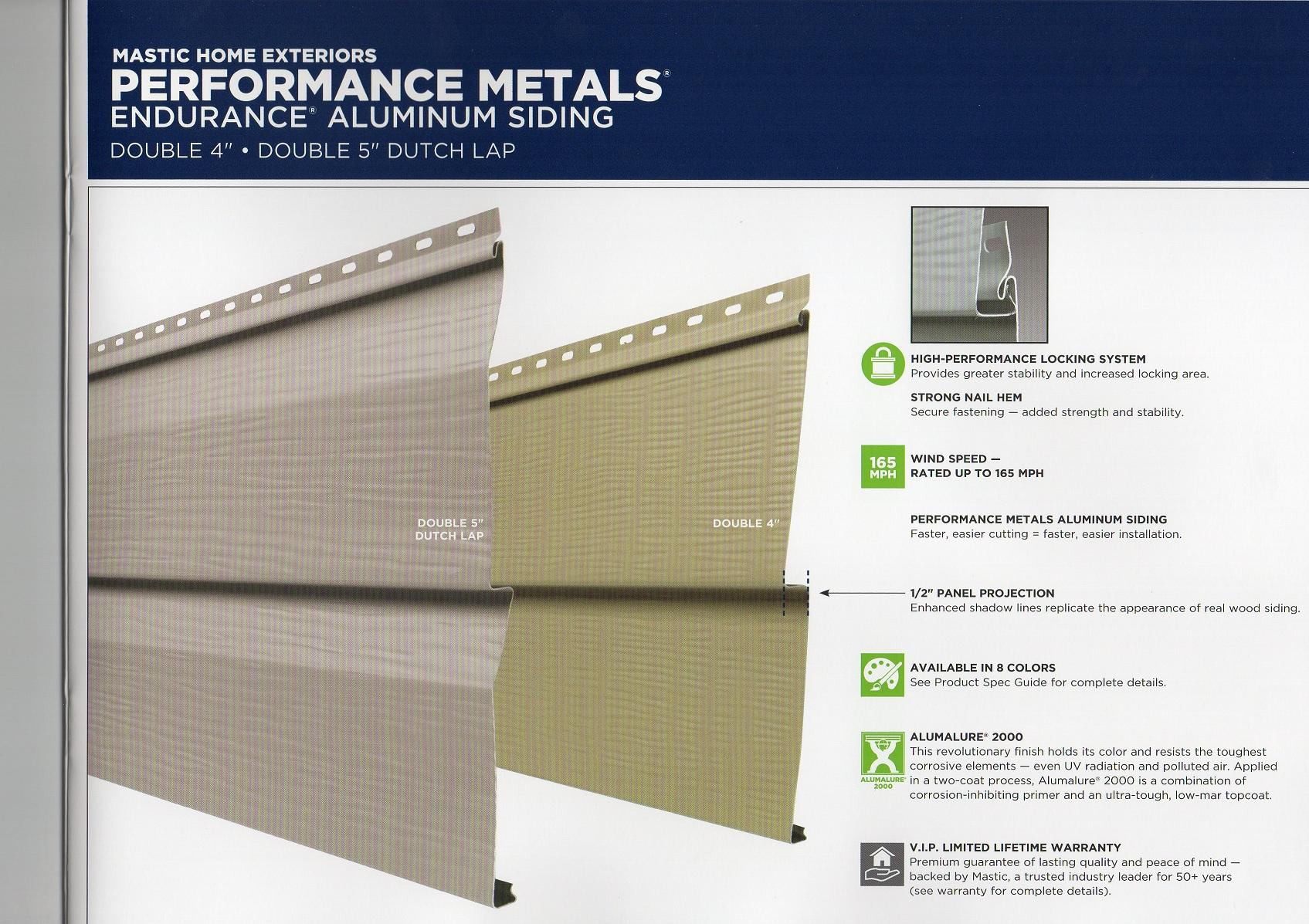 mastic exterior metals
