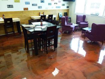 Seamless Epoxy Kitchen Floor