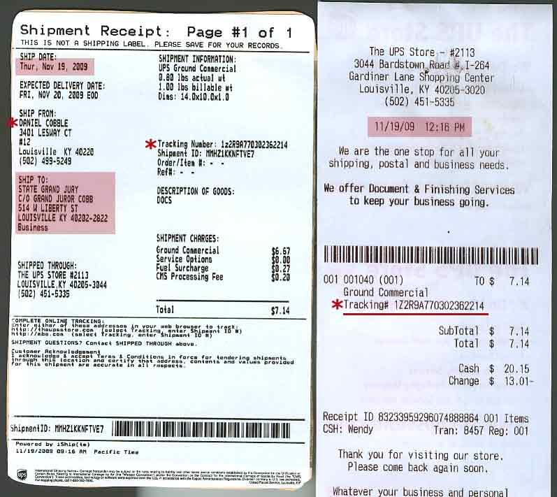 how to send receipts for oshc claim