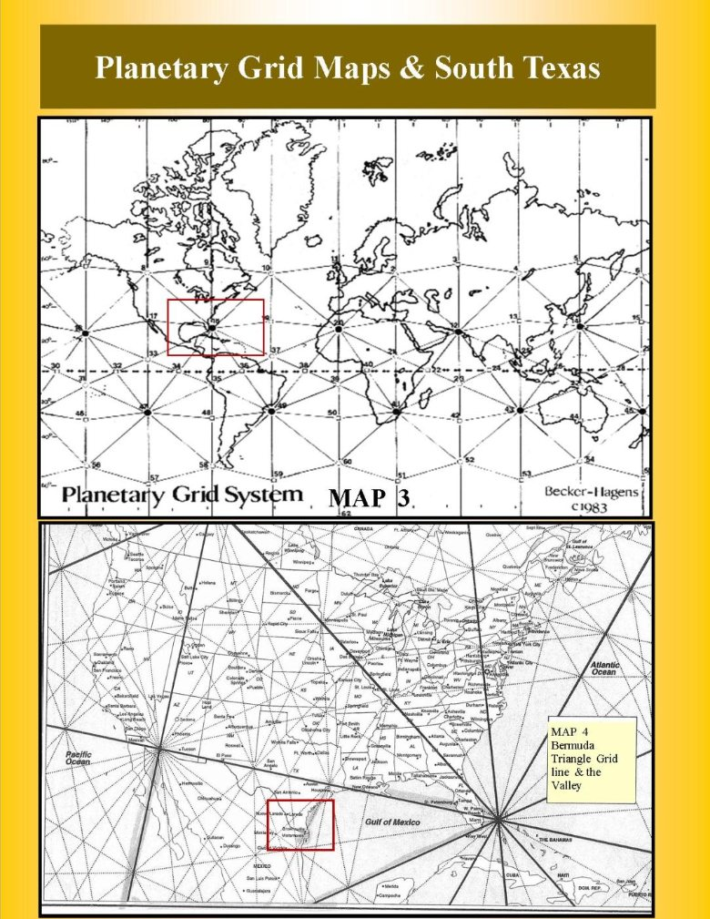 Church Of The Divine Spirit Vortex Maps - Map of south texas