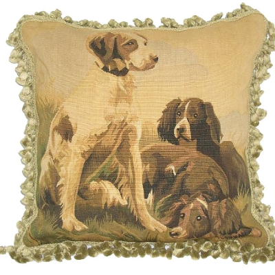 Needlepoint and Aubusson PillowsNeedlepoint and Aubusson Pillows