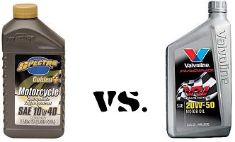 The true difference between motorcycle oil and automotive for What is the difference between motor oils