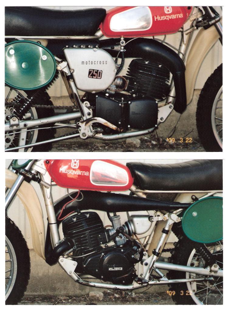 Vintage husqvarna motorcycle clothing