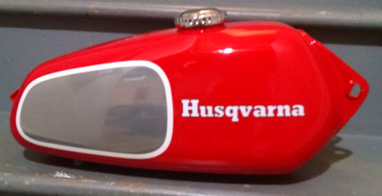 Vintage Husqvarna Gas Tanks Gas Tank Restoration And Repair