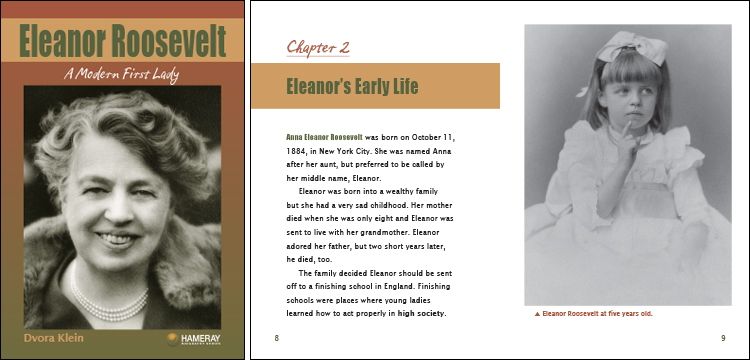 the early life and work of eleanor roosevelt The best you could in your personal life and in your work eleanor roosevelt in the early elliot roosevelt, died two years later when eleanor was.