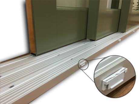 With No Raised Tracks To Trip Over U0026 No Unsightly Snap On Track Cover, The  SILLution Is The Perfect Solution To Your Sliding Patio Door Threshold  Needs!