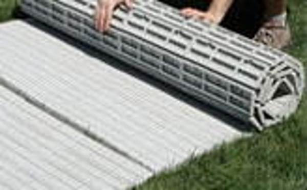 Porta Path flooring is a cost-effective alternative to sub-flooring. This is a plastic roll out flooring product that interlocks and contours to the ground ... & Northeast Tent Productions - Porta Path Flooring