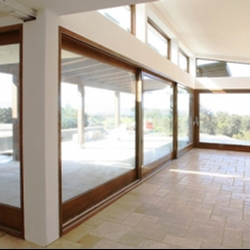 Ag millworks custom patio doors when exposure to sun and rain is an issue youll want to opt for aluminum cladwood foldaway patio doors weve combined a sleek tough low maintenance planetlyrics Choice Image