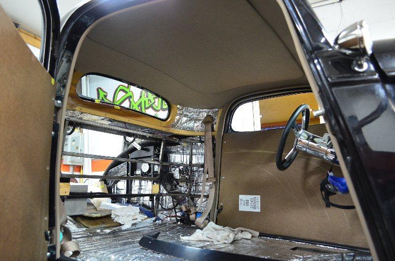 Shusta custom Interior hot street rat rod upholstery ...