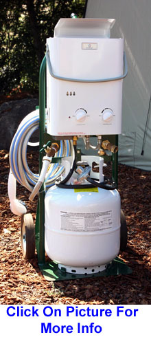 Portable Propane Tankless Water Systems