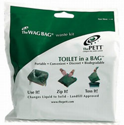 Wag Bag Toilet In A Waste Kits 12 Pack