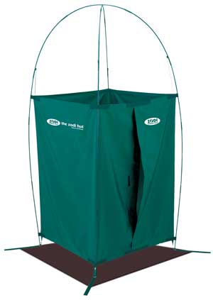 Zodi Hut Camping Shower Shelter Features