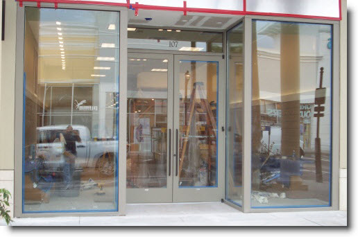 Tempered Glass Doors Nyglass Company New York Emergency Glass