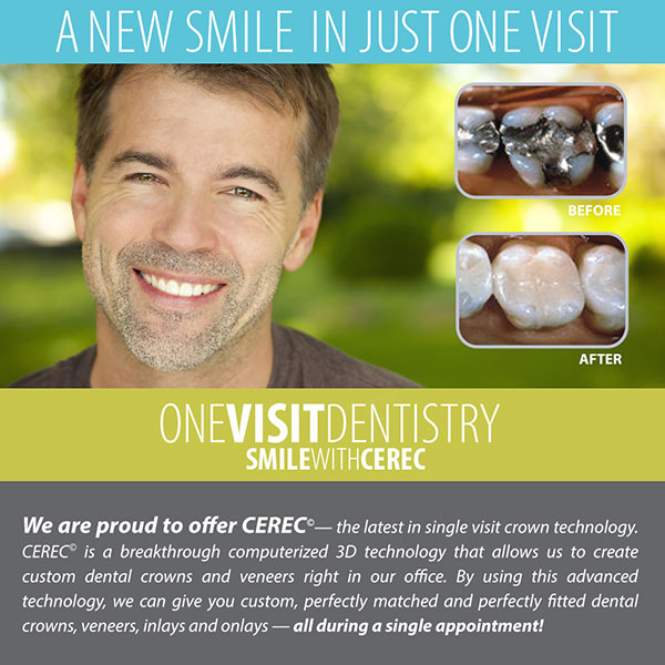 What is the Difference Between CEREC� and Lab-Made Dental Crowns?