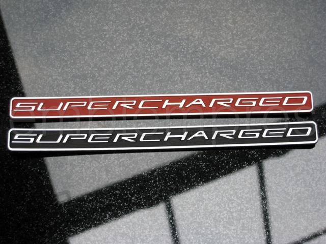 SUPERCHARGED TAG - CORVETTE ANY YEAR