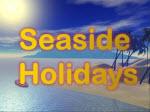 Seaside holidays heading