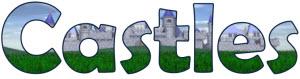 Castles display lettering