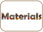 Materials heading