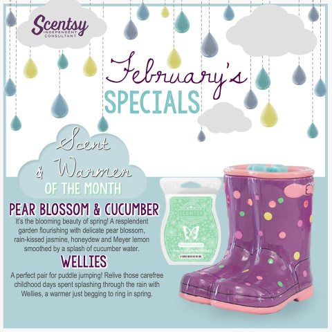 Scenty Warmer of the Month