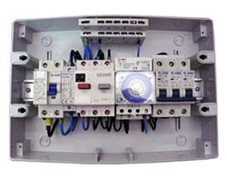Interior quadro eléctrico série 955