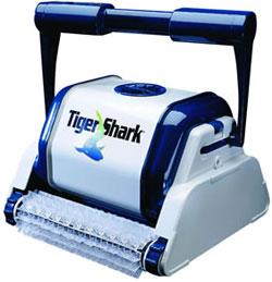 Aspirador robot piscina, Tiger Shark com rolos gel