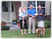 Read About the Service that Mike & Ali Garrison Received from Realtor Jim Cadwalader when Buying a House in Fishers, Indiana