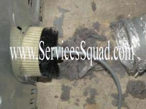 Dryer Exhaust Lint Cleaning