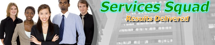 Services Squad - Work Order Page