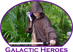 Star Wars theme Jedi Training in Atlanta Mystical Parties