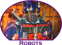 Transformer Robot Parties Atlanta Mystical Parties