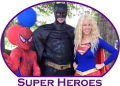 Superhero Parties Atlanta Mystical Parties