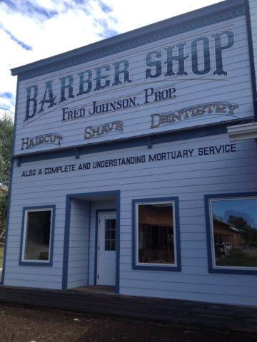 Fred Johnson's Barber Shop