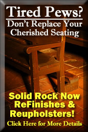 Solid Rock Furniture Reupholsters & ReFinished Furniture All Over the SouthEast!