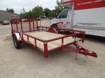 New 2022 Heartland 6x10+2 dovetail 3ft gate
