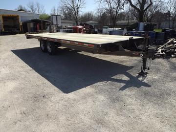New 2022 Heartland 22ft Deck-over Tandem axle trailer