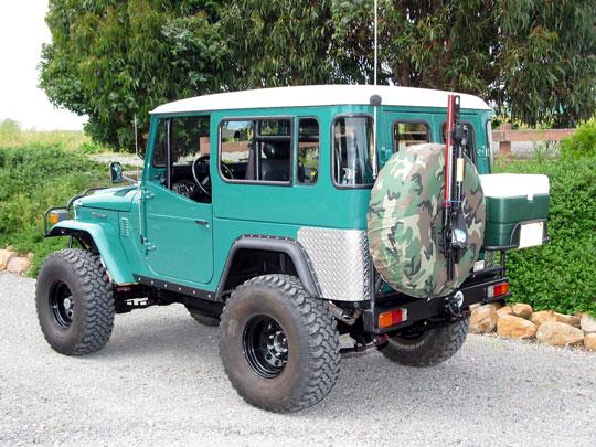 Decker's Land Cruiser Restoration and Accessories