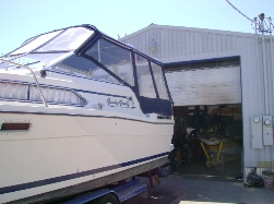 Bayliner Yacht outdrive repair
