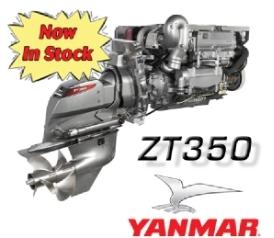 yanmar marine zt350 repower package