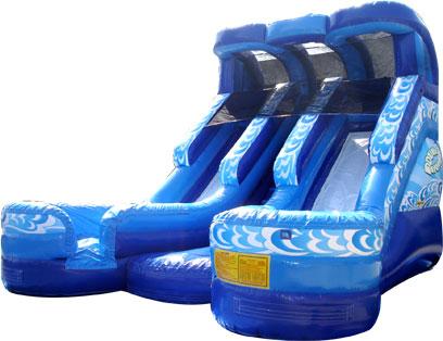 Double Splash Mega Slide