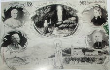 Post Card 50 Years Recognition of The Apparitions