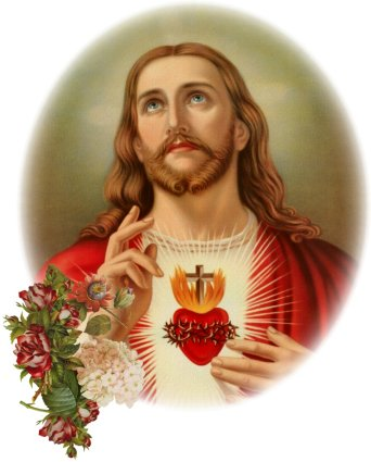 The Scared Heart of Jesus