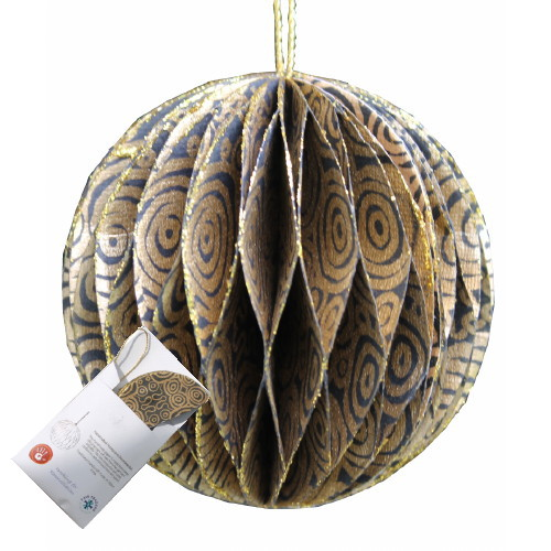 Fair Trade Christmas Decoration Aboriginal Design